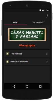 Letras Musicas César Menotti e Fabiano poster