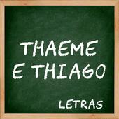Letras Musicas Thaeme e Thiago icon