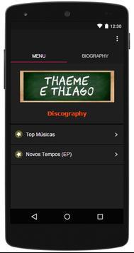 Letras Musicas Thaeme e Thiago poster