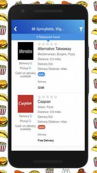 Lets Eat - Takeaway Food screenshot 1