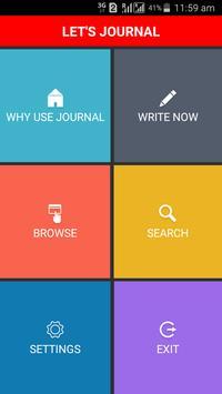 Lets Journal apk screenshot