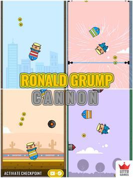 Ronald Grump - Huge Cannon apk screenshot