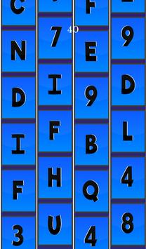 Letter Tiles (Don't Touch The Numbers) Free poster