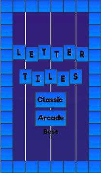 Letter Tiles (Don't Touch The Numbers) Free apk screenshot