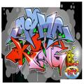 lettering graffiti