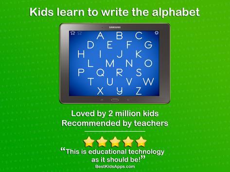 LetterSchool - Learn to Write! apk screenshot