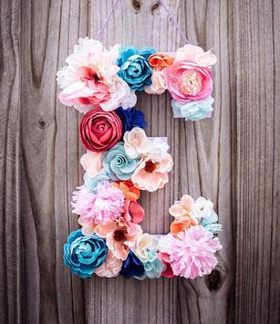 Flower Letter Wallpaper apk screenshot