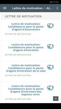 Lettre De Motivation Candidature For Android Apk Download