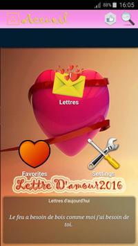 Lettre D'amour poster