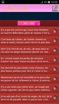 Lettre D'amour apk screenshot