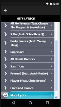 Tinashe Songs & Lyrics. screenshot 6