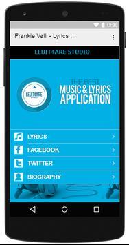 Frankie Valli - Lyrics Music screenshot 2