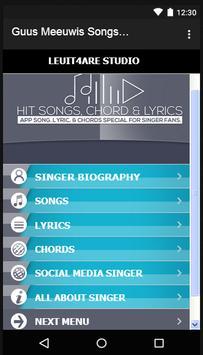 Guus Meeuwis Songs & Lyrics. screenshot 4