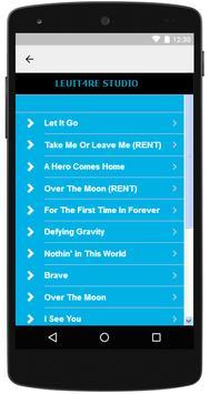 Idina Menzel - Lyrics Music apk screenshot