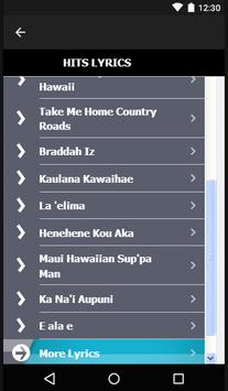 Israel Kamakawiwo Songs&Lyrics apk screenshot