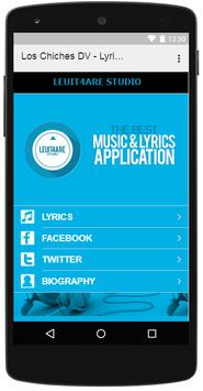 Los Chiches DV - Lyrics Music screenshot 2