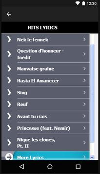 Nekfeu Songs & Lyrics. screenshot 6
