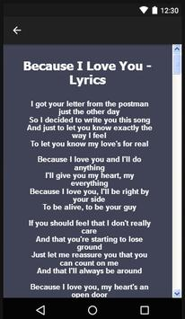 Stevie B. Songs & Lyrics. screenshot 7