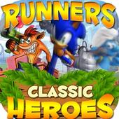 Super 3 Classic  Runners bros & the Crash Smash icon