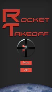 Rocket Takeoff poster