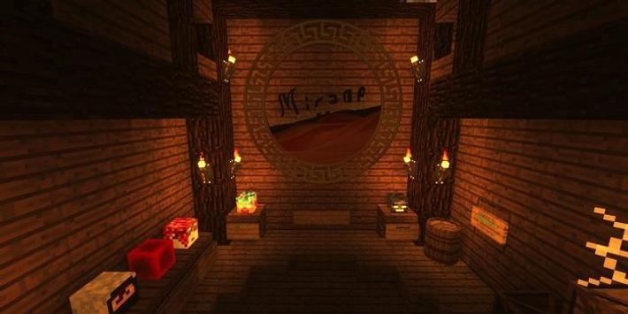Crainers Escape Mines Map for MCPE poster