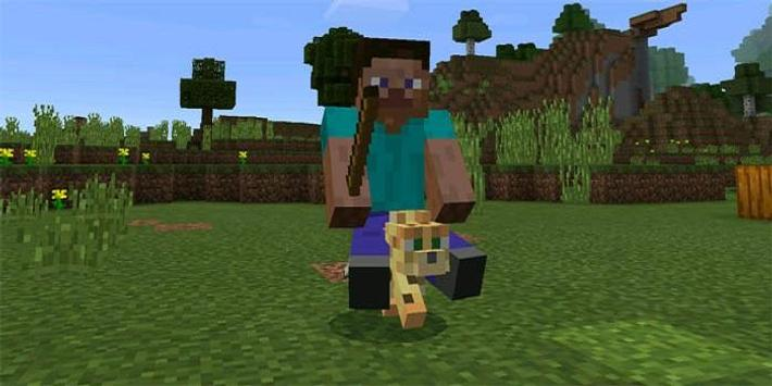 Driveable Mobs Addon for MCPE poster