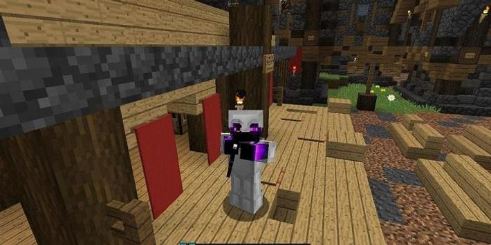 IronMan PvP Resource Pack for MCPE poster