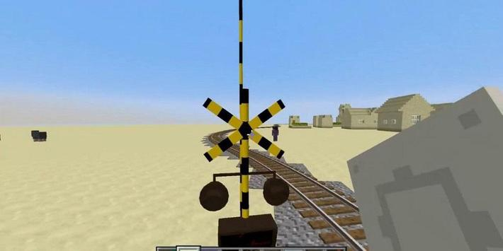 Real Train Mod for MCPE poster