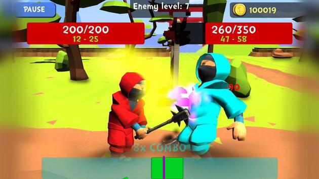 Combo Ninja - Endless Quest screenshot 3