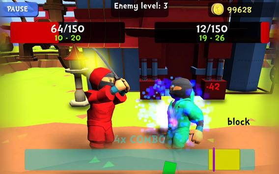 Combo Ninja - Endless Quest screenshot 14