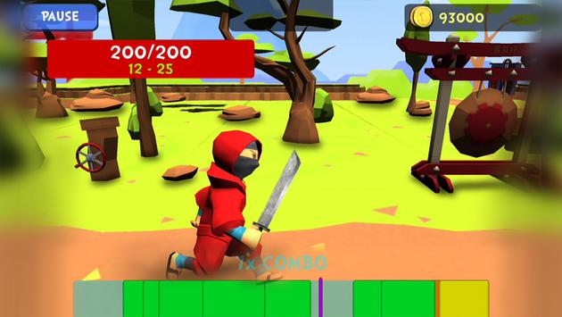 Combo Ninja - Endless Quest screenshot 1
