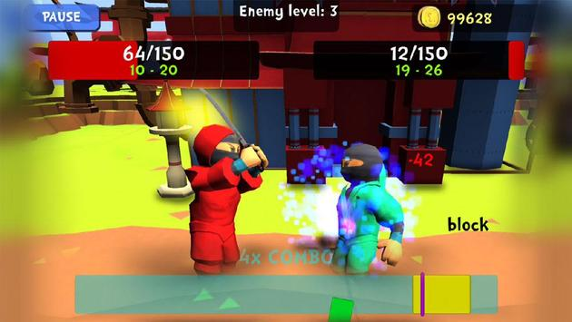 Combo Ninja - Endless Quest screenshot 4