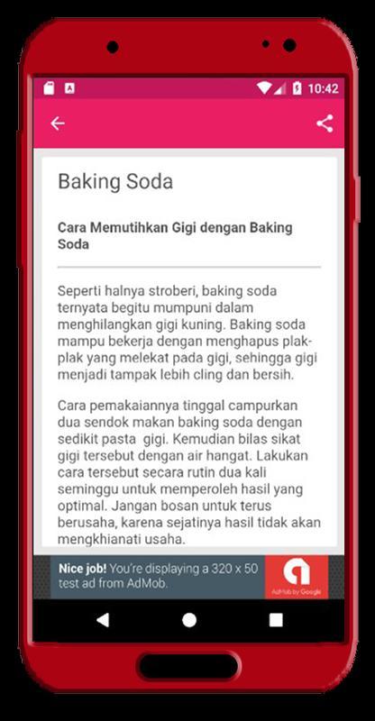 Cara Memutihkan Gigi Alami For Android Apk Download