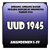 Undang Undang Dasar 1945 dan amandemen icon