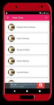 Kumpulan Puisi Cinta Lengkap screenshot 1