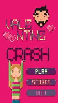 Valentine Crash poster
