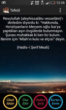 Tefeül (Ayet  Hadis Güzel Söz) poster