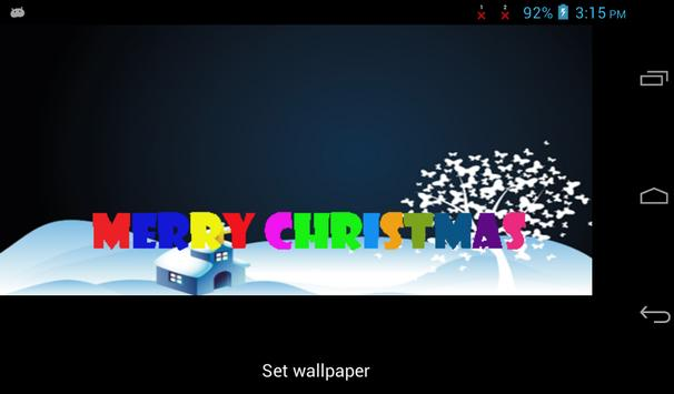 Christmas Live Wallpaper Free screenshot 2