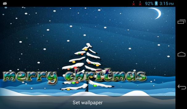 Christmas Live Wallpaper Free screenshot 4