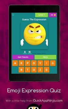 Emoji Expressions Quiz poster