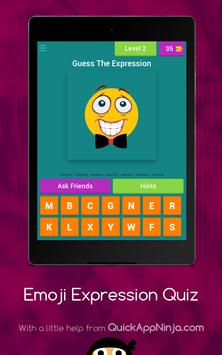 Emoji Expressions Quiz screenshot 2