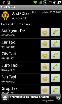 AndROtaxi screenshot 1