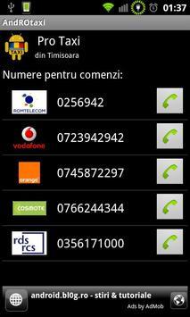 AndROtaxi screenshot 2