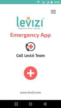 Levizi Emergency Care App poster