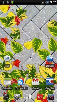 Autumn Leaves Free LWP screenshot 3