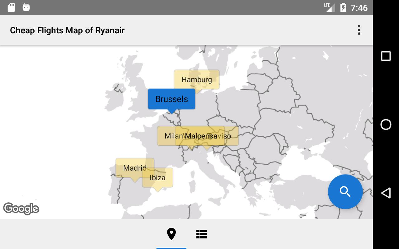 Cheap flights of ryanair map apk download free travel local cheap flights of ryanair map apk screenshot gumiabroncs Image collections