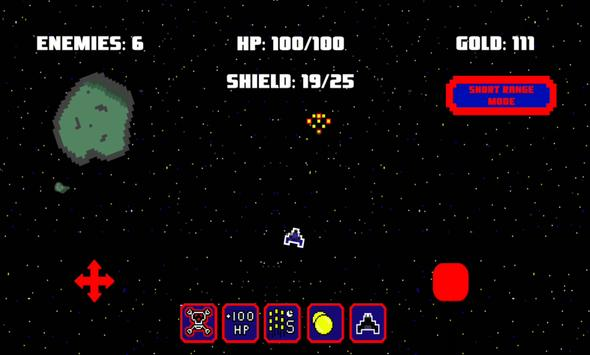 Pixel Fighter - Space shooter apk screenshot