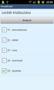 VocaDroid DE screenshot 5
