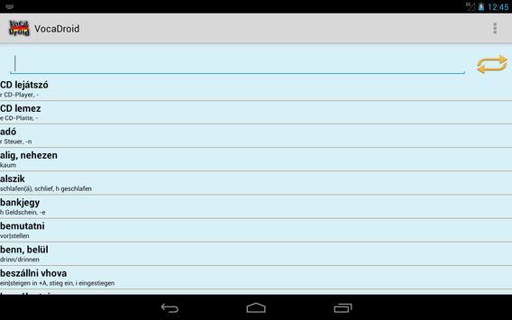 VocaDroid DE screenshot 14
