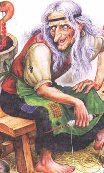 Baba Yaga Jigsaw Puzzles poster